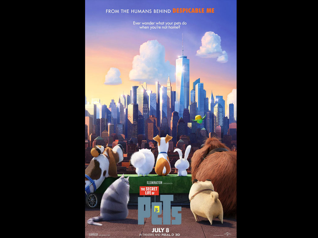 The Secret Life Of Pets Wallpaper: The Secret Life Of Pets HQ Movie Wallpapers