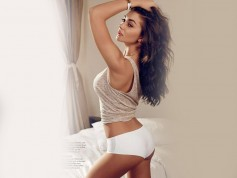Amy Jackson On Magazine  Cover Page