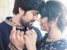 Yash And Radhika Pandit Engagement Wallpapers