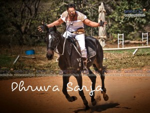 Kannada Actor Dhruva Sarja Wallpaper