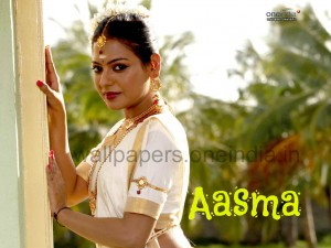 Aasma Wallpaper