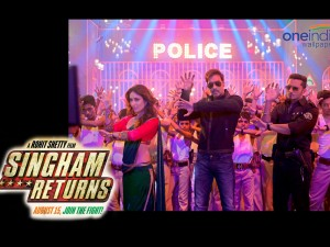 Singham Returns Wallpaper