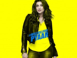 Kill Dil First Look Poster - Parineeti Chopra