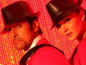 Vikram and Amy Jackson