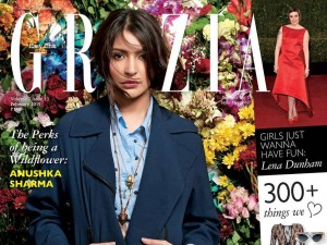 Anushka Sharma on the Cover Page of Grazia