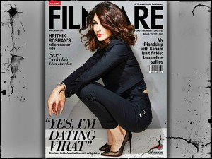 Anushka Sharma on Filmfare India Magazine March 2015