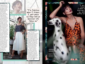 Nargis Fakhri on Juice Magazine April 2015