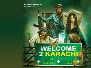 Welcome To Karachi Wallpaper