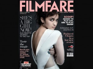 Alia Bhatt On Filmfare August 2015