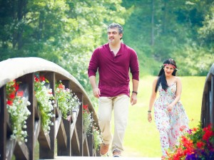 Ajith Kumar & Shruti Haasan