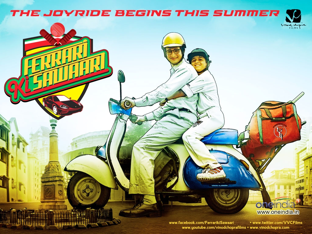 Ferrari Ki Sawaari movie Wallpaper -381