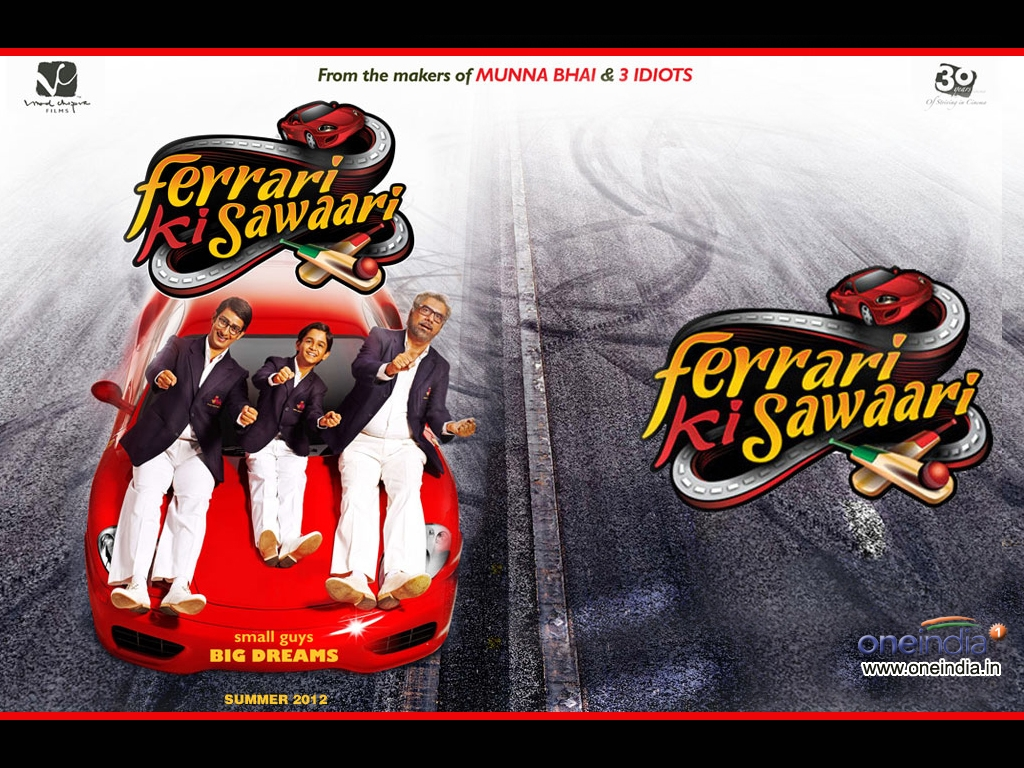 Ferrari Ki Sawaari movie Wallpaper -382