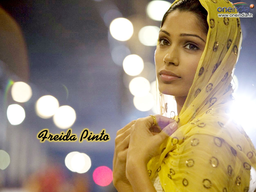 Freida Pinto Wallpaper -669