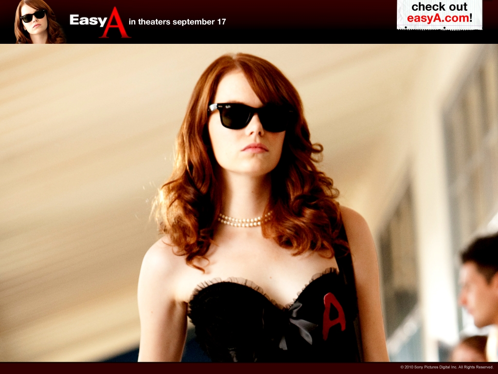 Easy A movie Wallpaper -8696