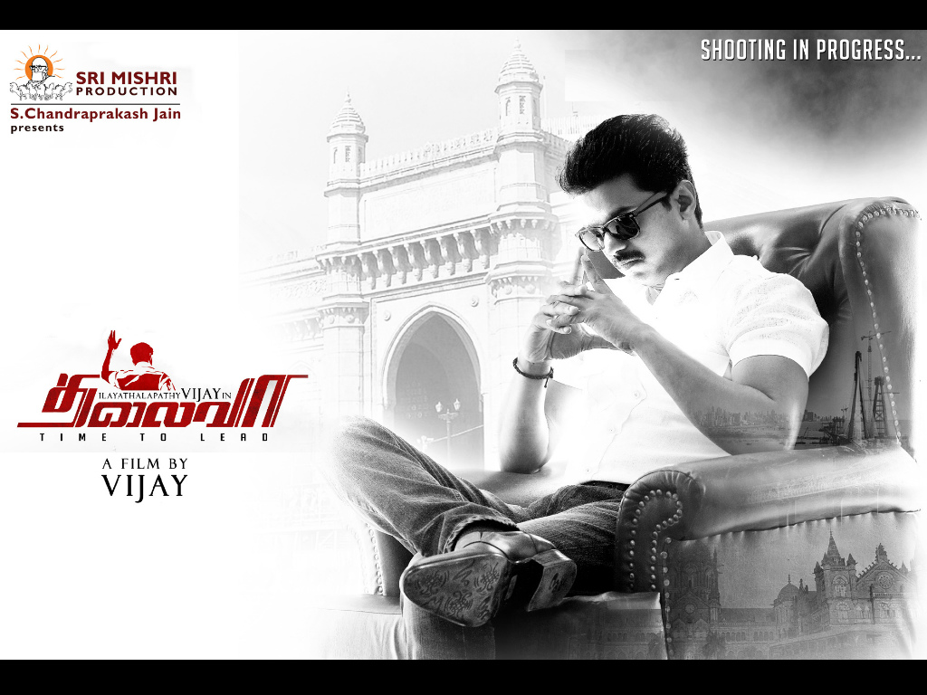 Vijay Hd Wallpapers 1080p Thalaivaa HQ Movie Wal...