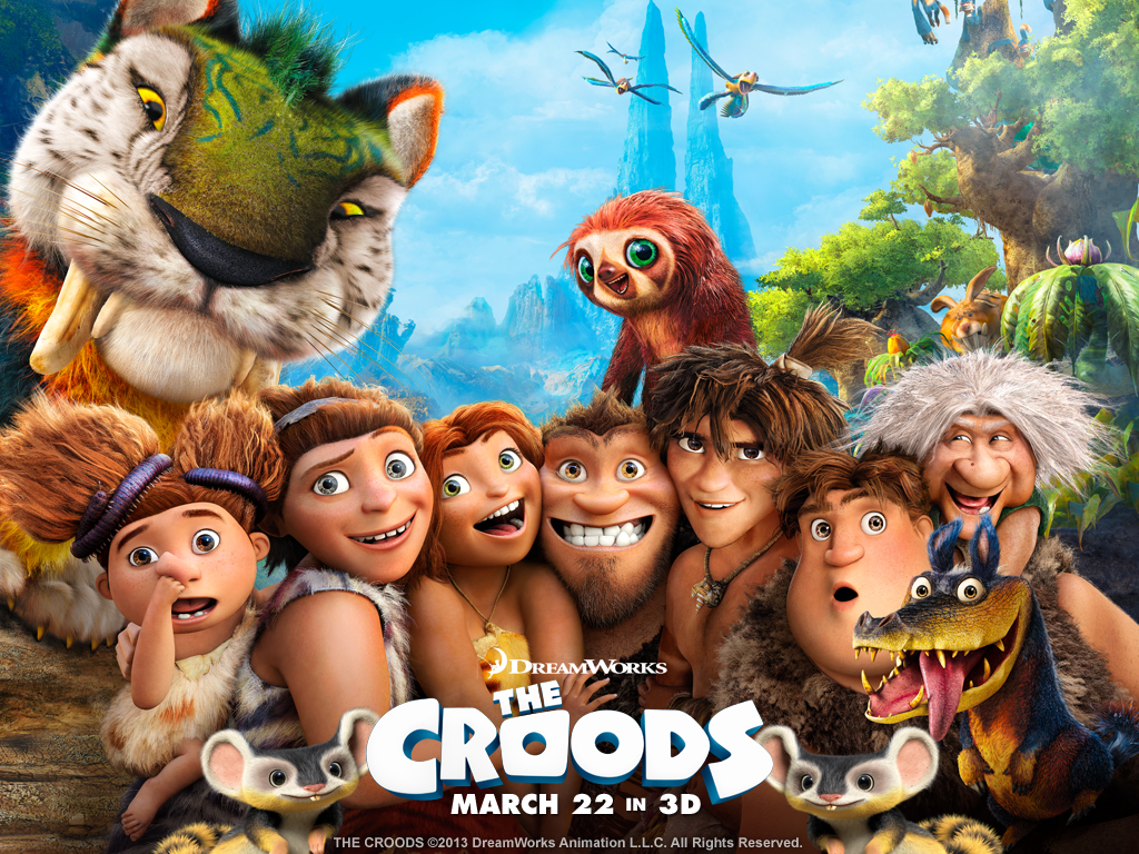 The Croods movie Wallpaper -9533