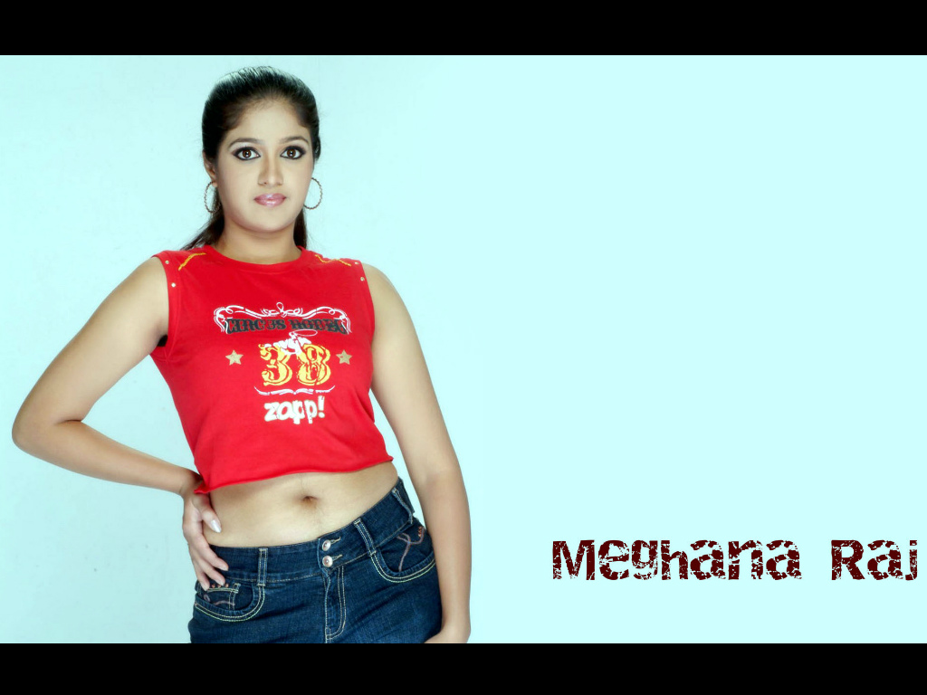 Meghana Raj Wallpaper -10001