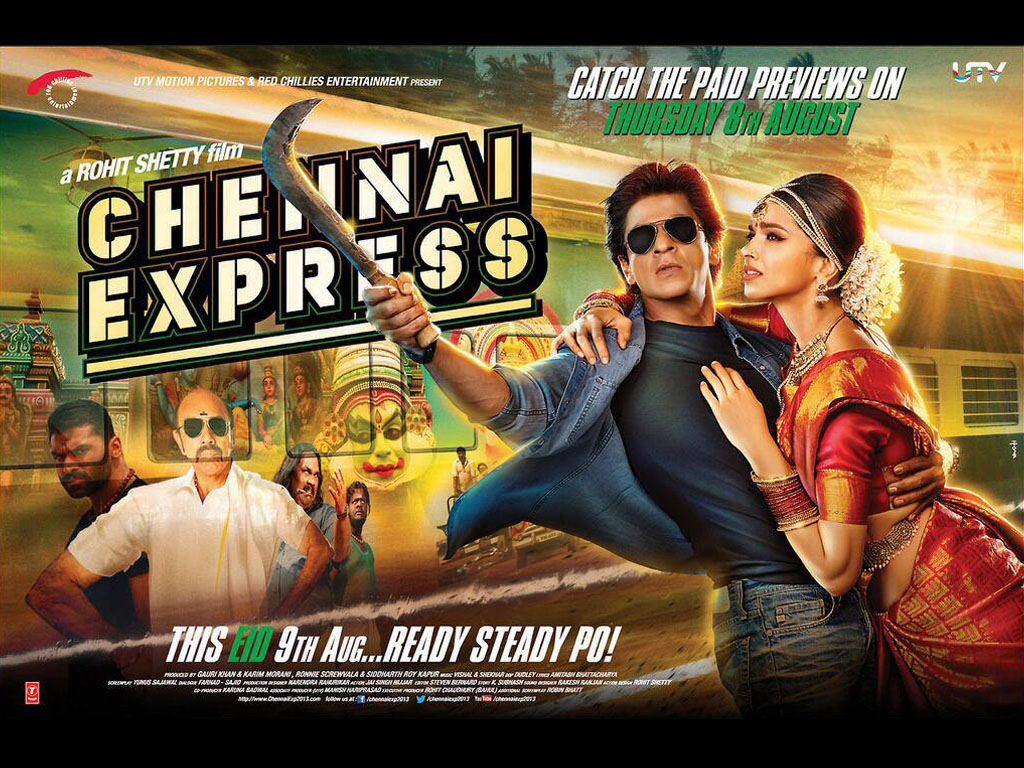 Chennai Express HQ Movie Wallpapers | Chennai Express HD ...