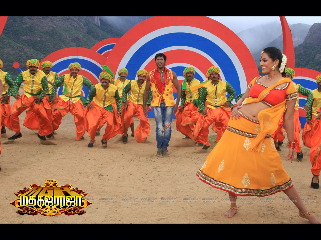 Madha Gaja Raja movie Wallpaper -10979