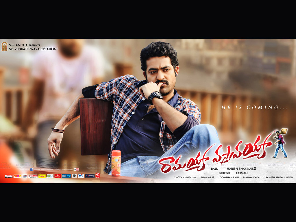 ramayya vastavayya hq movie wallpapers | ramayya vastavayya hd movie