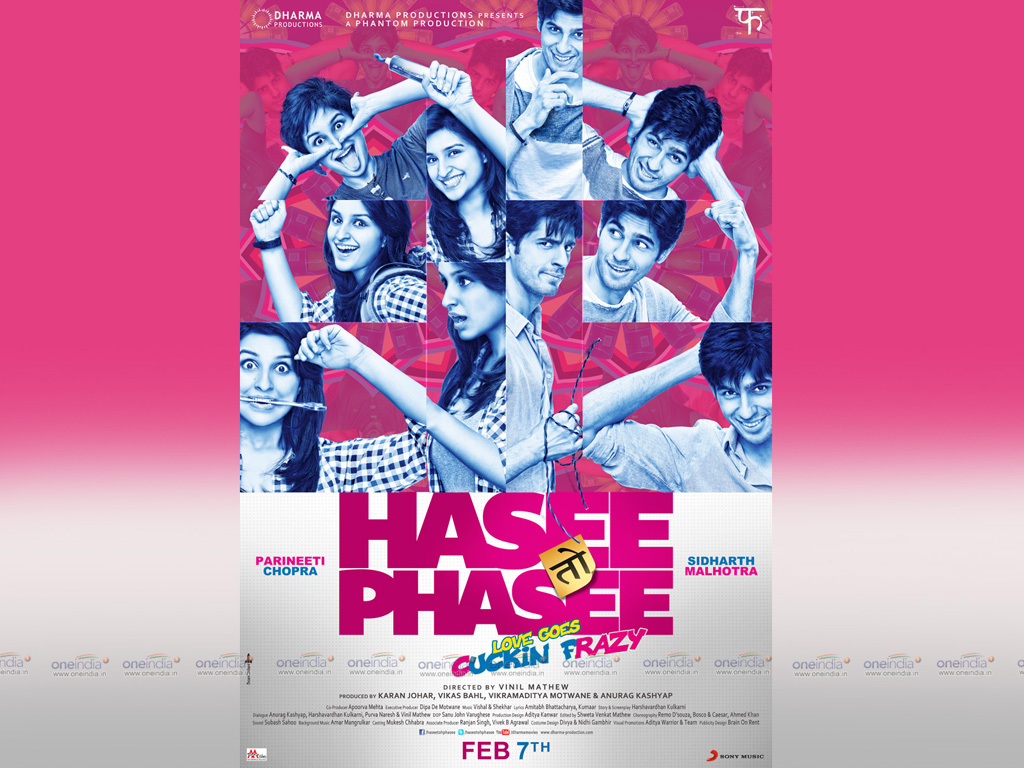 Hasee Toh Phasee 2014 Full Movie Free Download HD