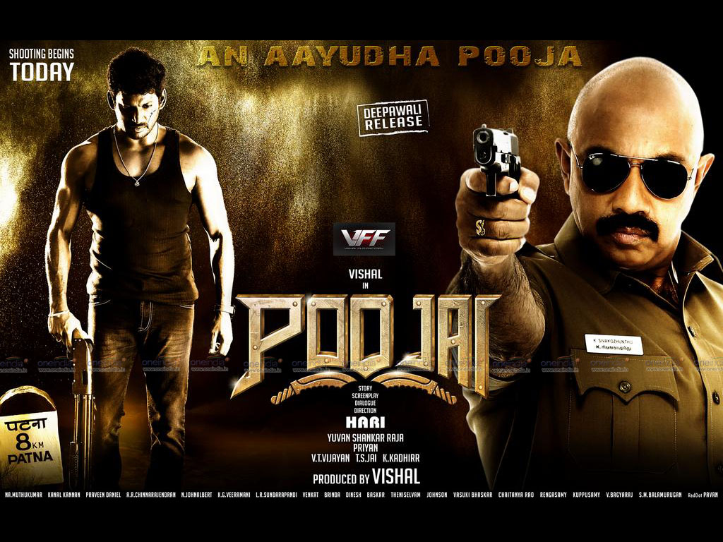 Poojai movie Wallpaper -14927