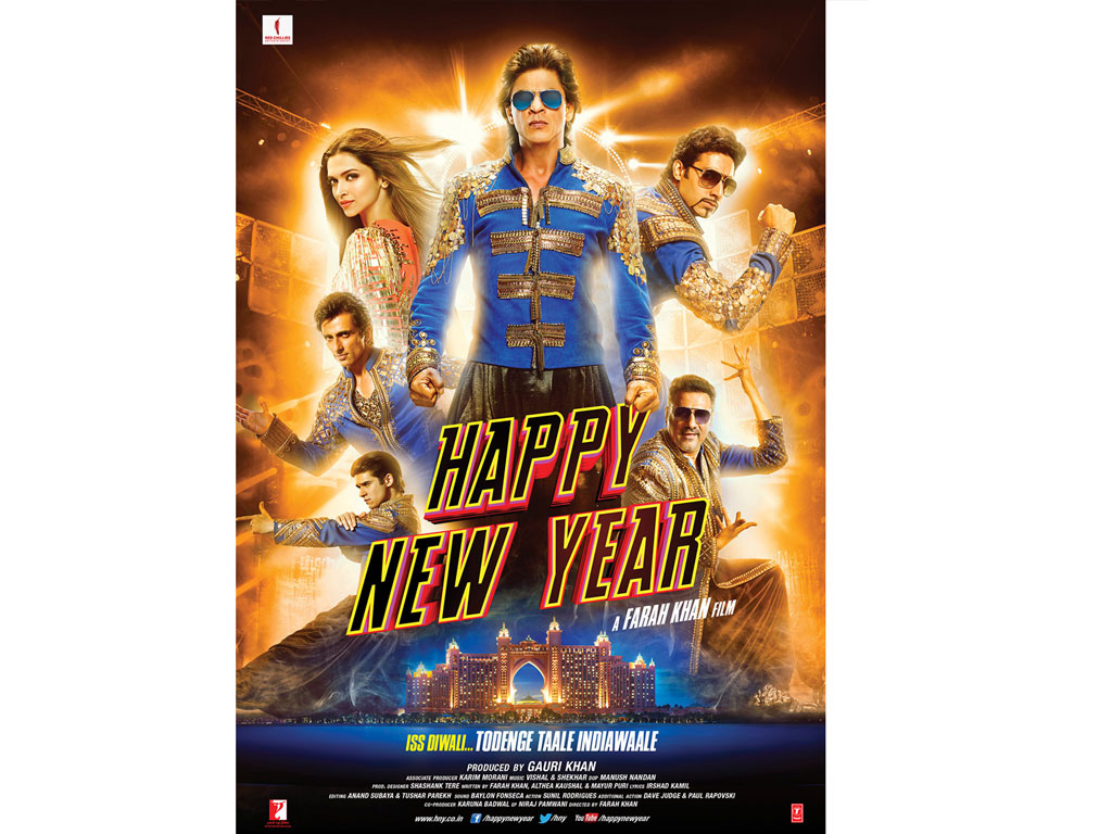 Happy New Year HQ Movie Wallpapers - 174.4KB