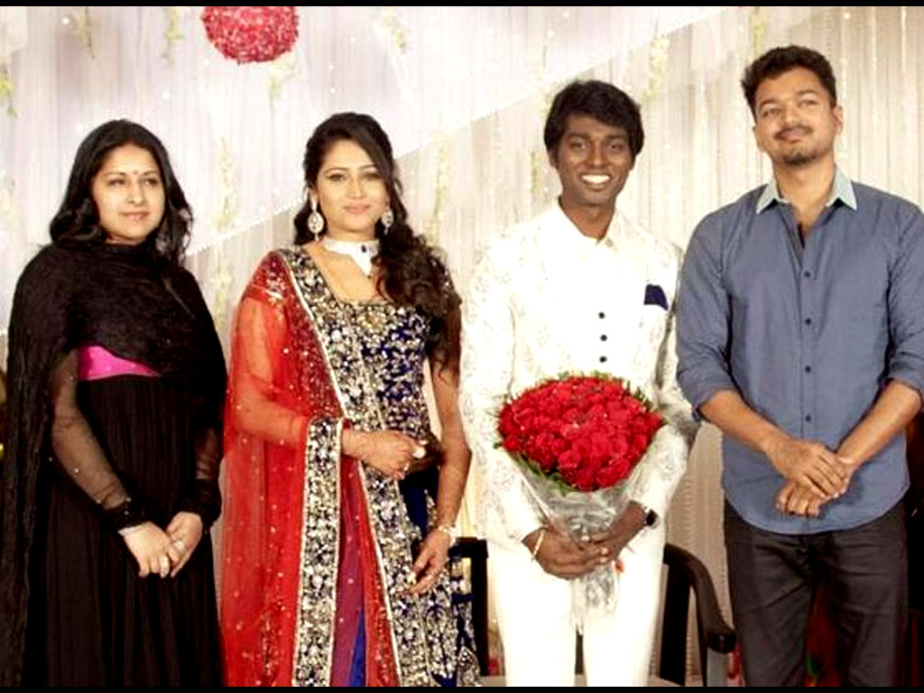 Atlee And Priya Wedding Reception