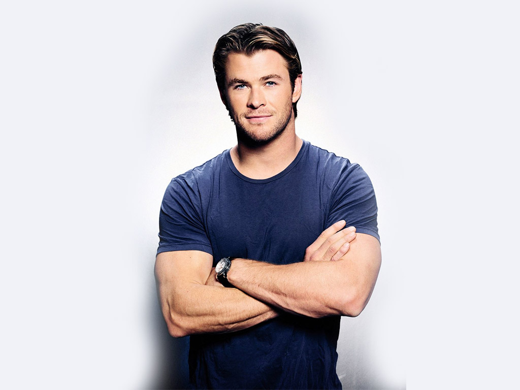 Chris Hemsworth Actors People Background Wallpapers on Desktop