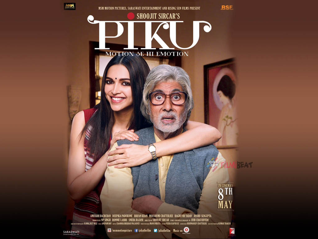 Piku 2015 720P Movie 500MB