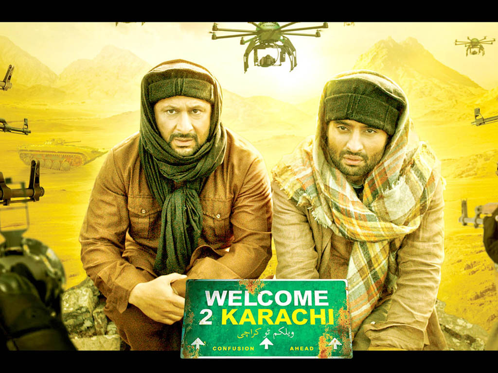 welcome to karachi hq movie wallpapers | welcome to karachi hd movie
