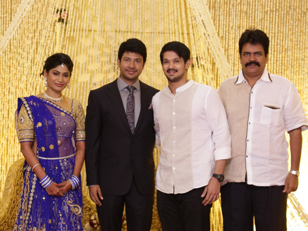 Feroz - Vijayalakshmi Wedding Reception
