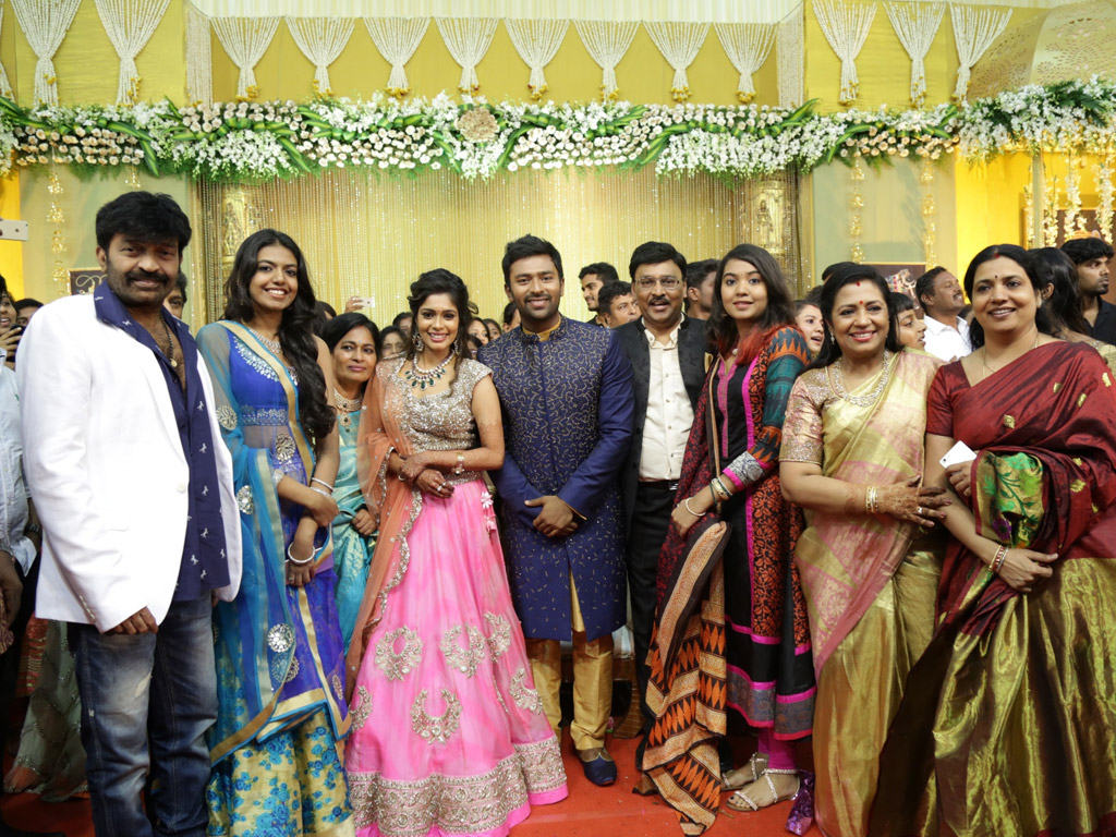 Shanthanu Bhagyara-Keerthi Wedding Reception
