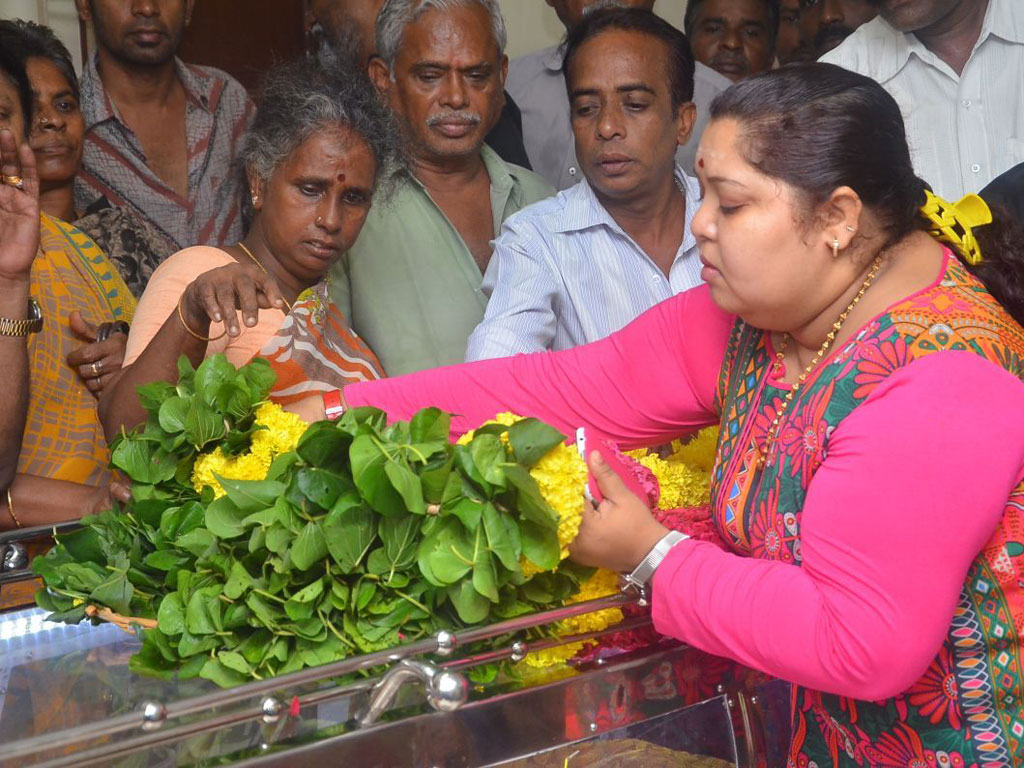 Celebrities Pay Homage To Aachi Manorama