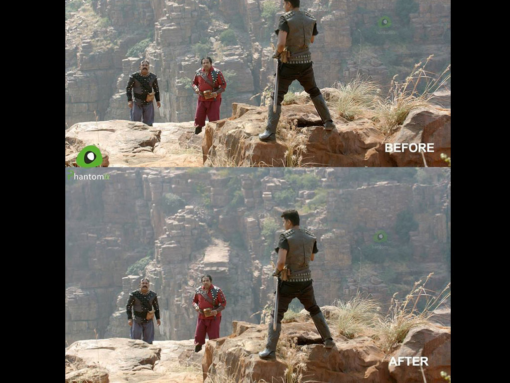 Puli Before And After VFX Images