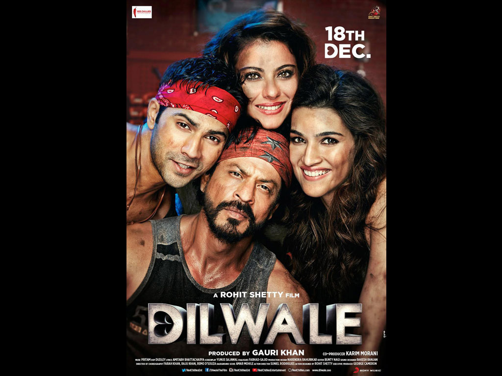 Dilwale Songs Download: Dilwale MP3 Songs Online Free