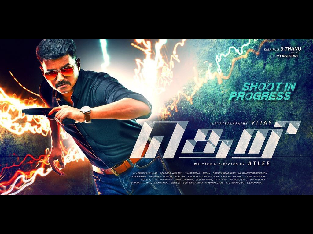 Theri Hq Movie Wallpapers Theri Hd Movie Wallpapers