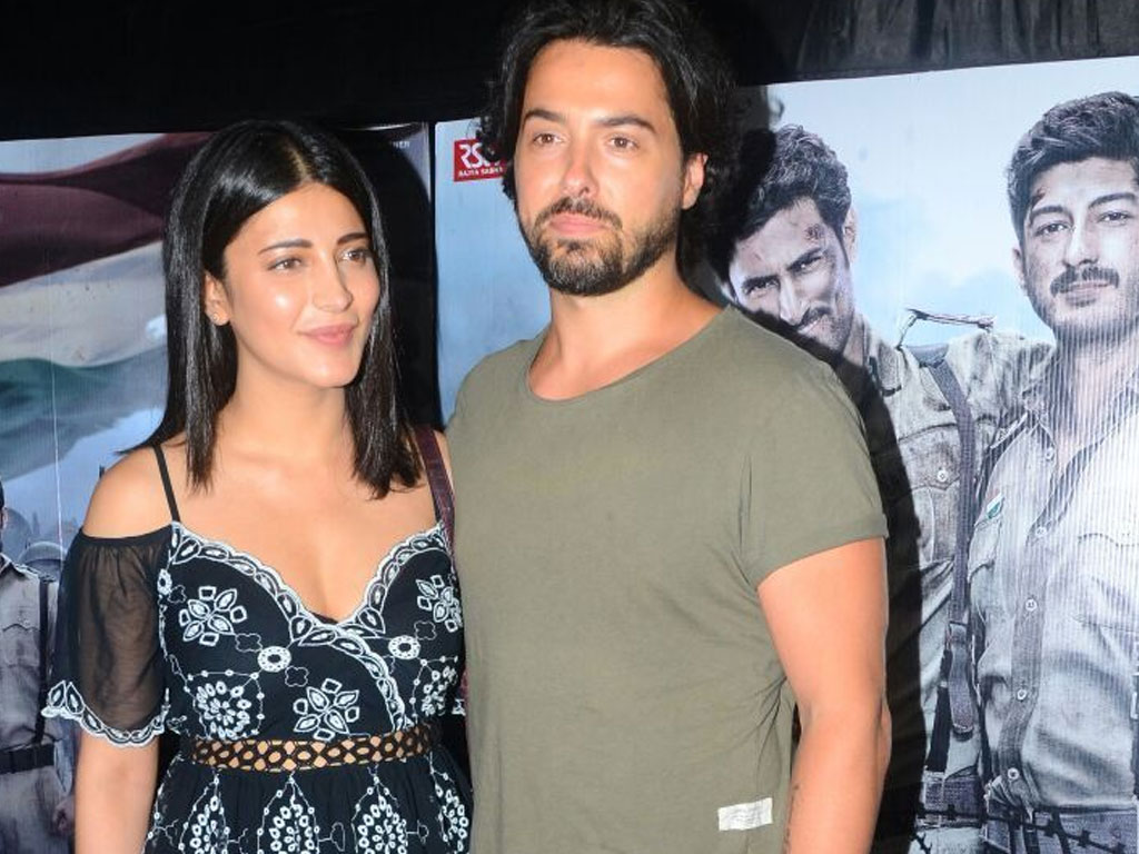 Shruti Haasan With Her Boyfriend