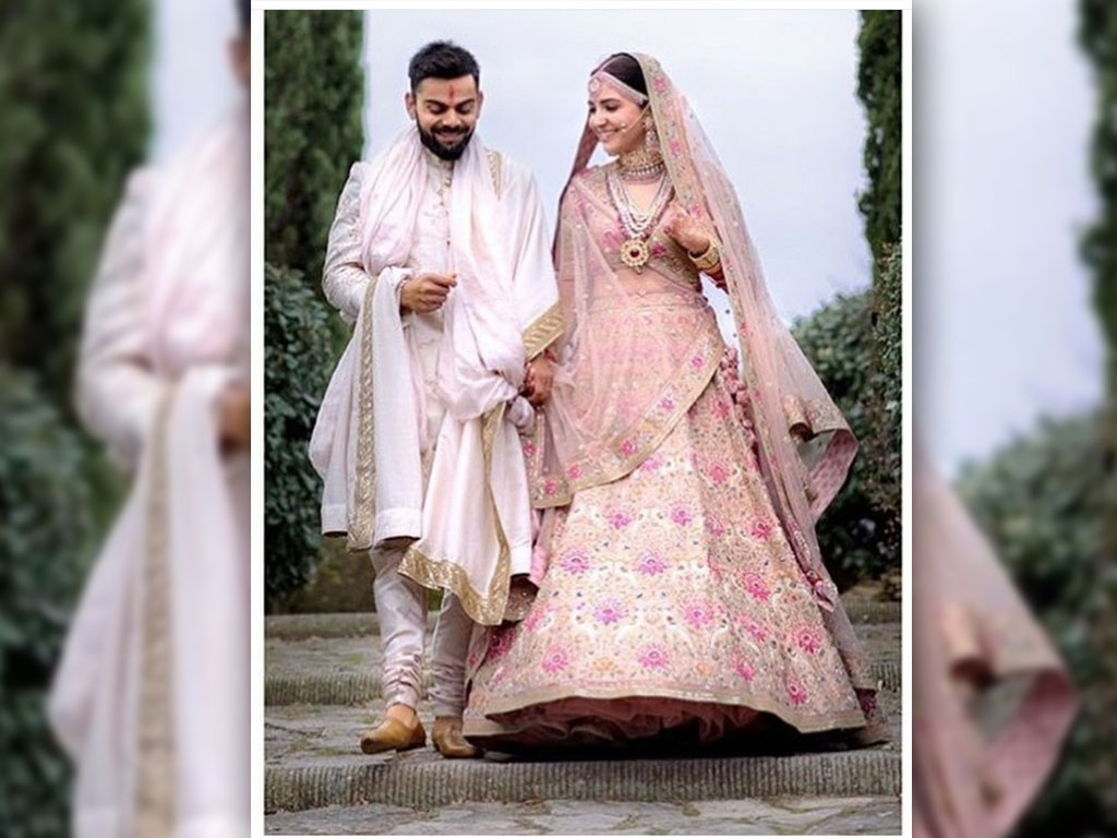 Anushka Sharma And Virat Kohli Wedding Wallpapers
