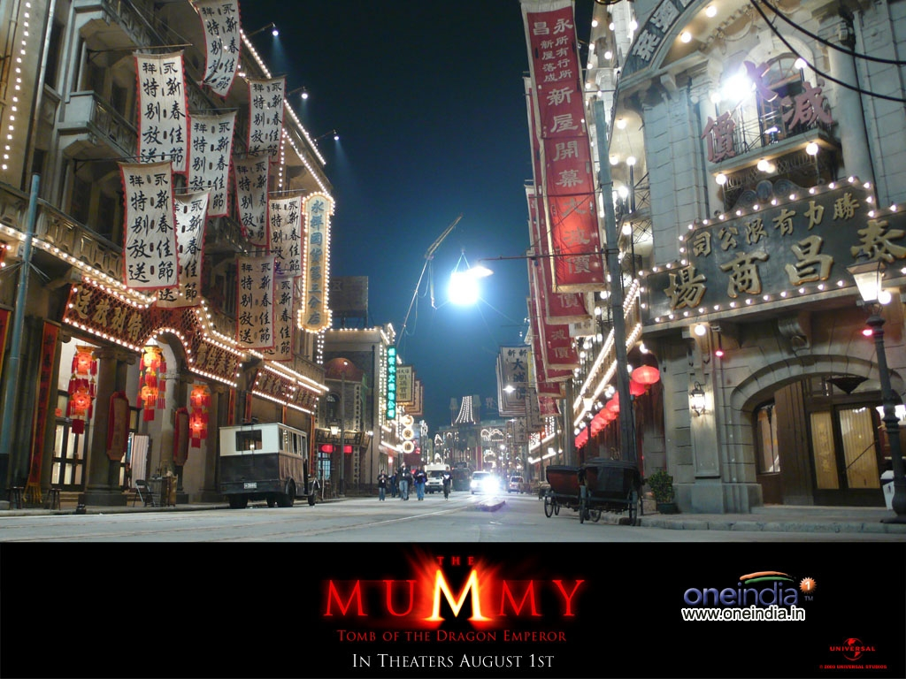 The Mummy Tomb of the Dragon Emperor
