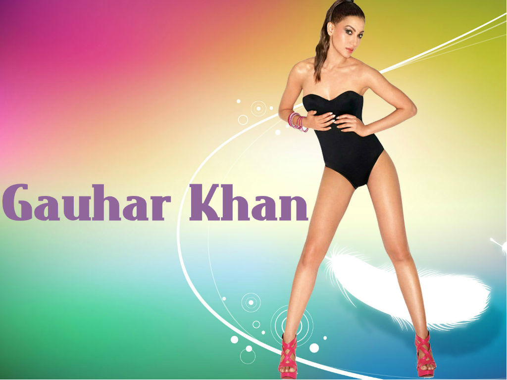 Actress Gauhar Khan